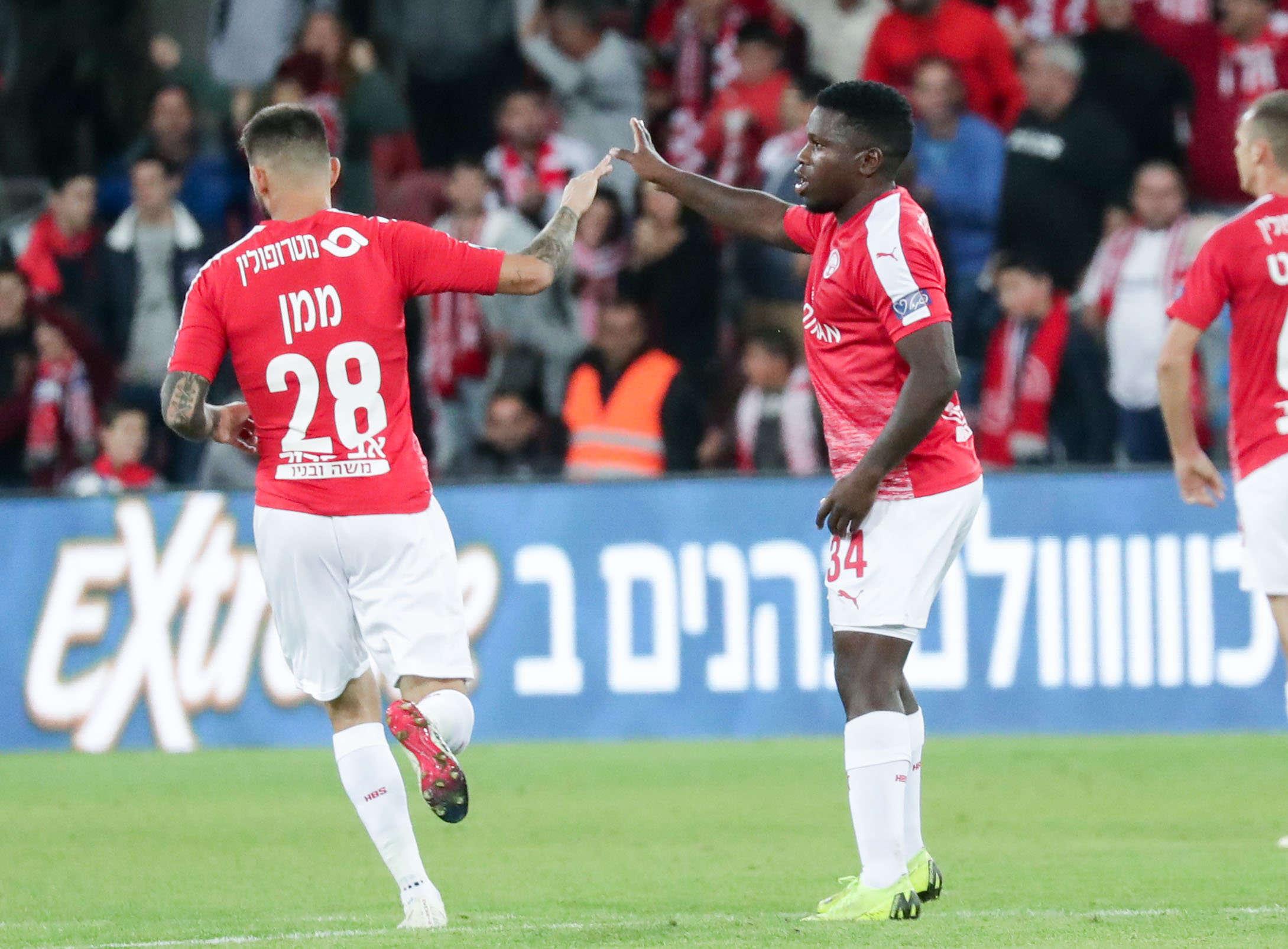 """חי מליגת העל: הפועל ב""""ש – מכבי חיפה 0:0"""