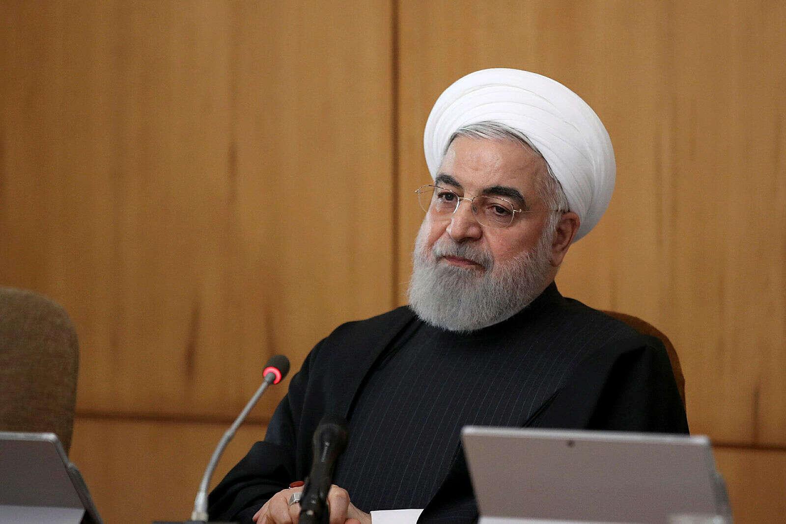 """הנשיא רוחאני: """"לעולם לא נשאף להשיג נשק גרעיני"""""""