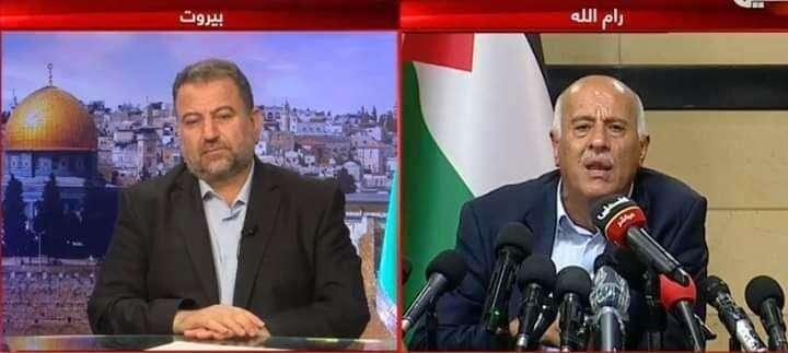 """רג'וב ובכיר חמאס בהצהרה משותפת: """"השת""""פ בינינו הוכיח את עצמו""""; איימן עודה """"השתתף"""""""