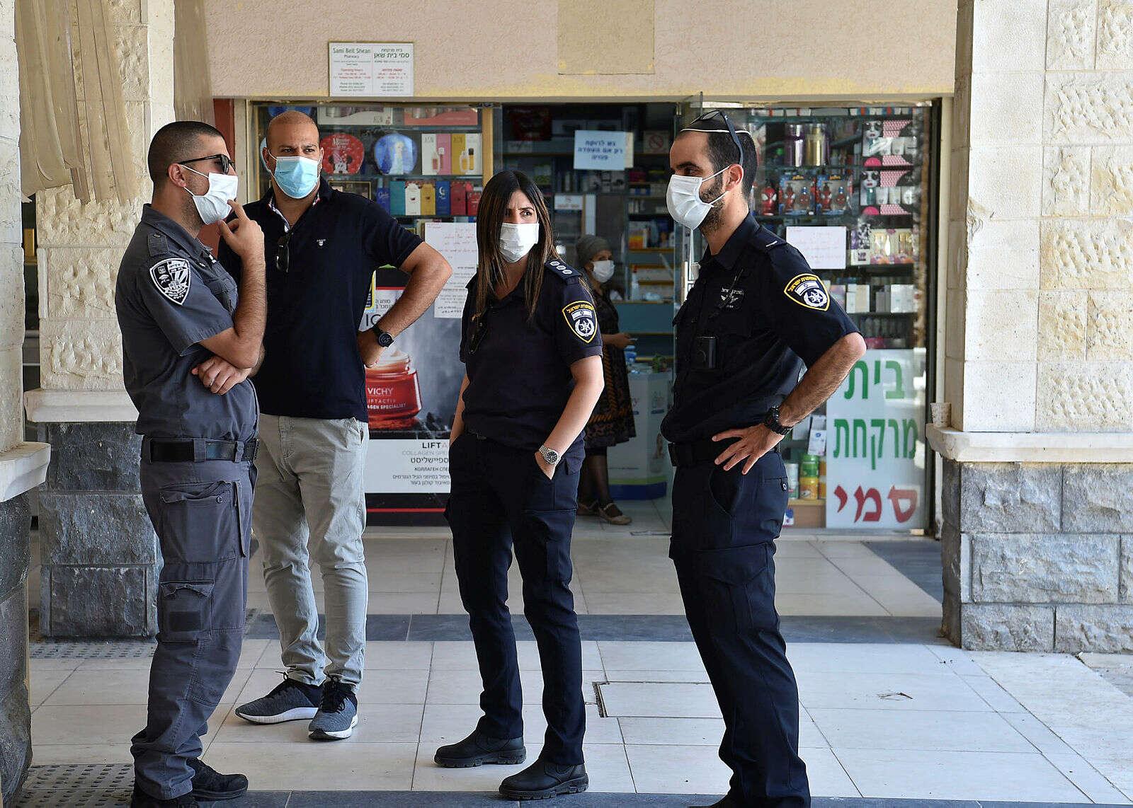 """במהלך הסופ""""ש: מבצע אכיפה משטרתי"""