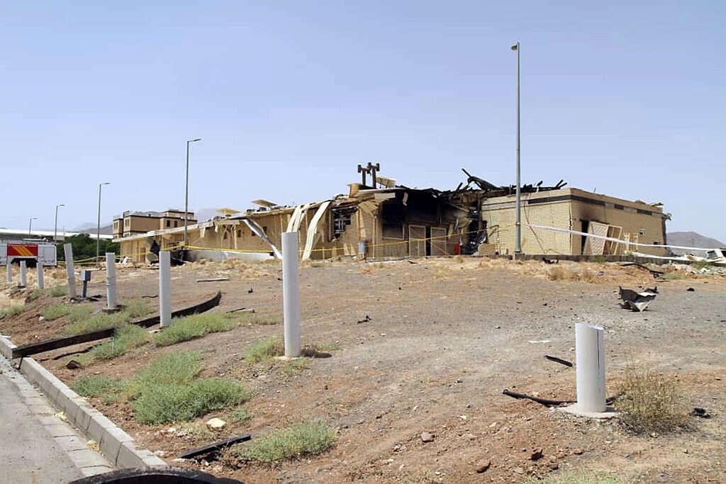 גורמים באיראן: השריפה במתקן הגרעין בנתנז - נגרמה מתקיפת סייבר ישראלית