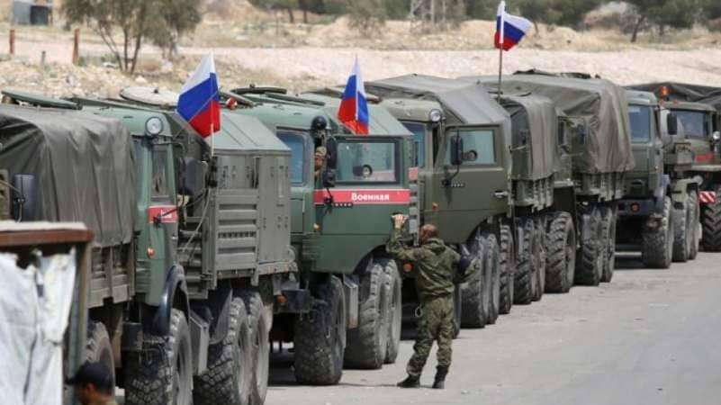 """סוריה: רוסיה שלחה כוחות ללב """"המסדרון האיראני"""""""