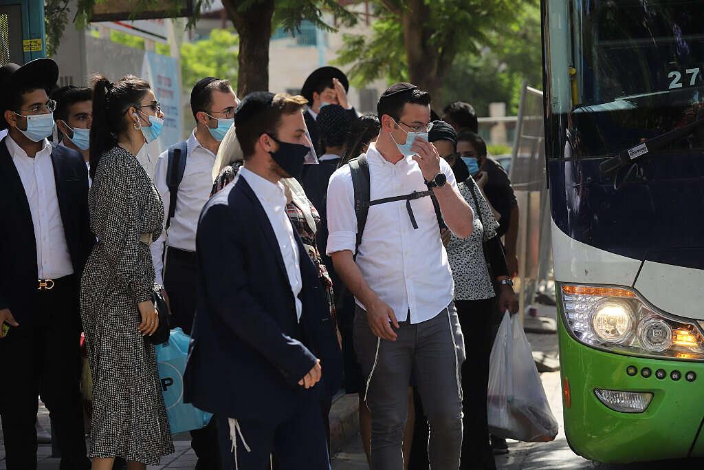 בעקבות העלייה בתחלואה: התחבורה הציבורית תפעל ב-50% תפוסה עד 22:00