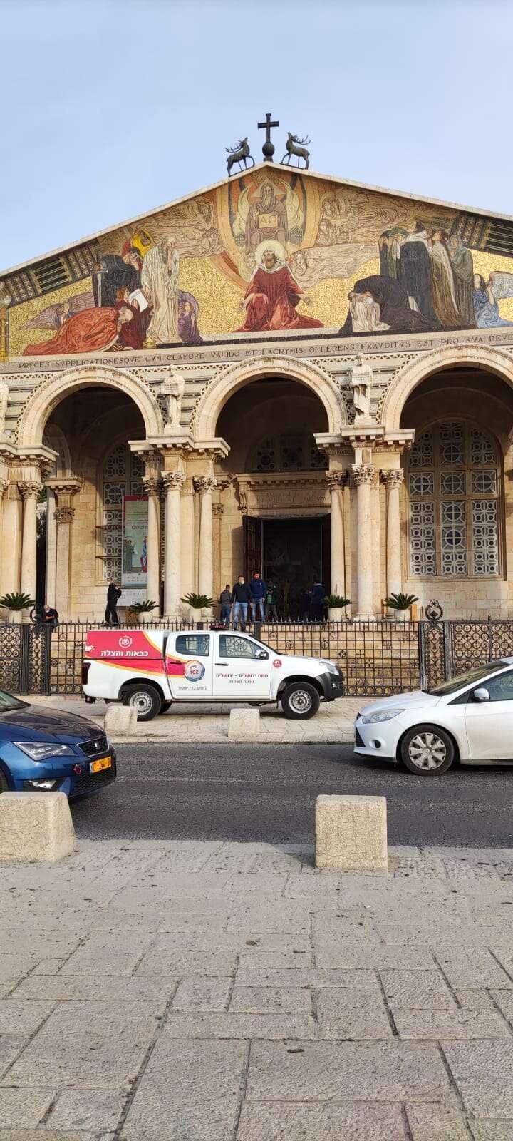 ירדן מגנה את ניסיון הצתת הכנסייה בירושלים