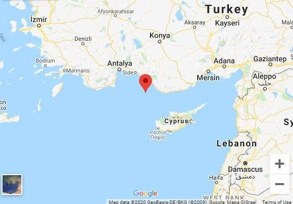 רעידת אדמה בין טורקיה לקפריסין הורגשה בצפון הארץ