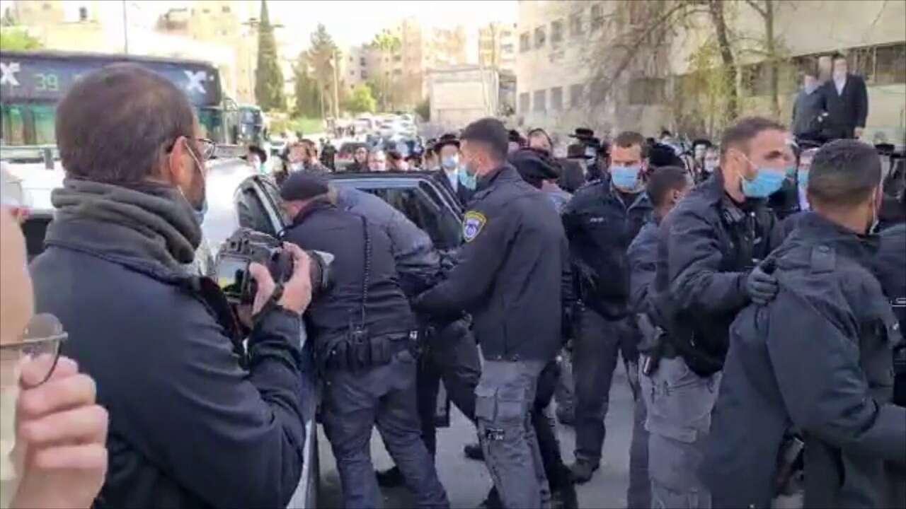 עימותים בירושלים: שישה מפגינים נעצרו