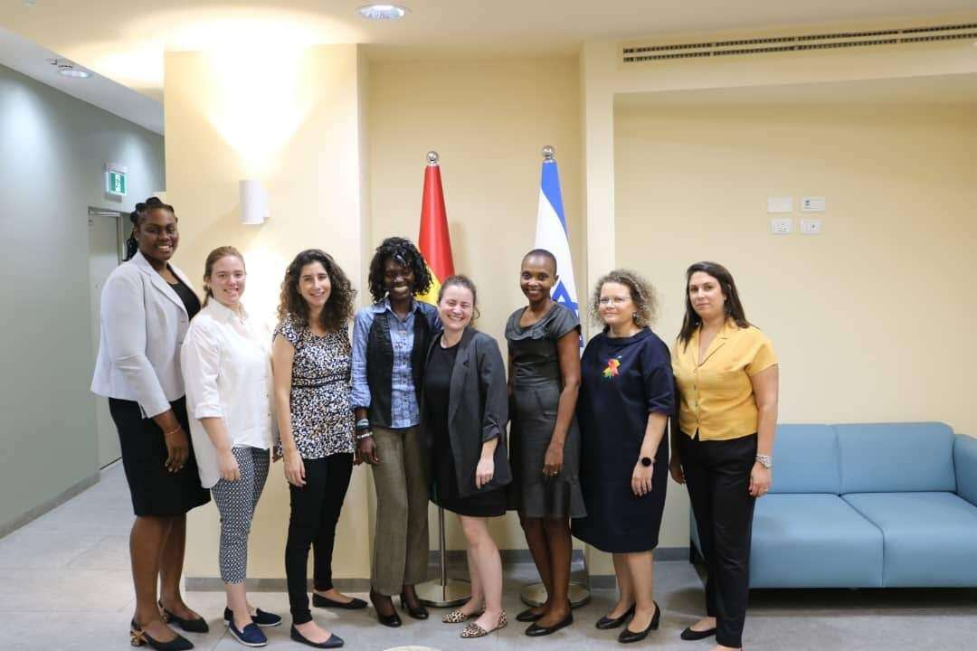שגרירות ישראל בגאנה: רוב נשי מובהק