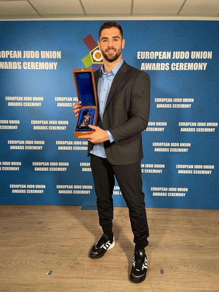 פיטר פלצ'יק ספורטאי השנה של איגוד הג'ודו האירופאי