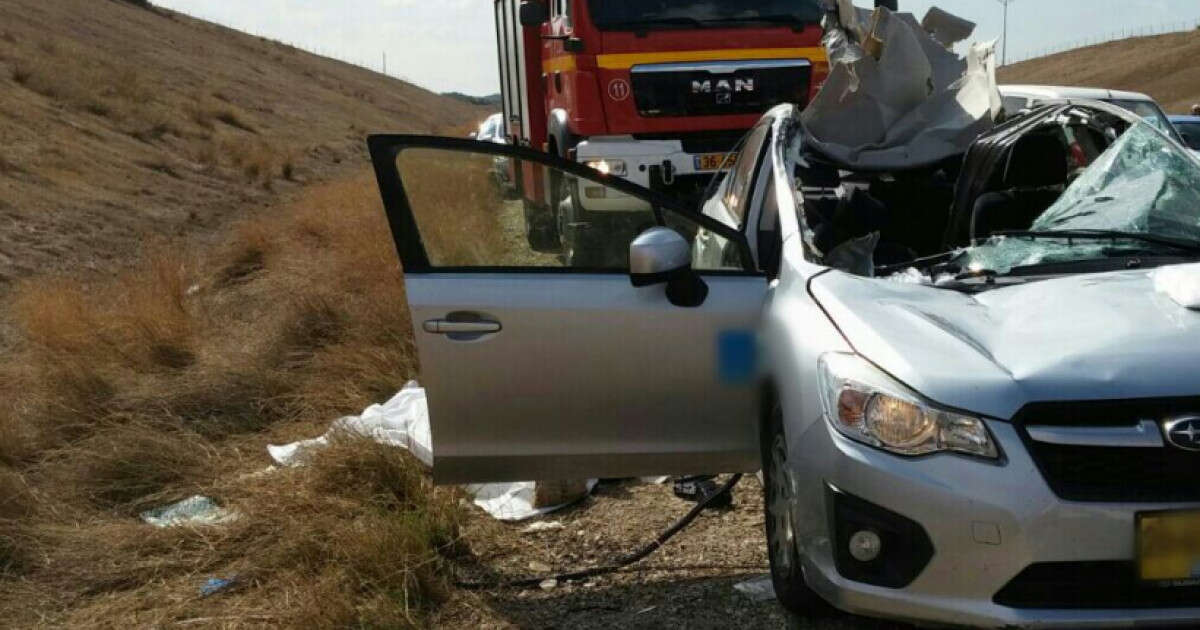 תאונה: תאונה קטלנית בכביש 6: שתי נשים נהרגו