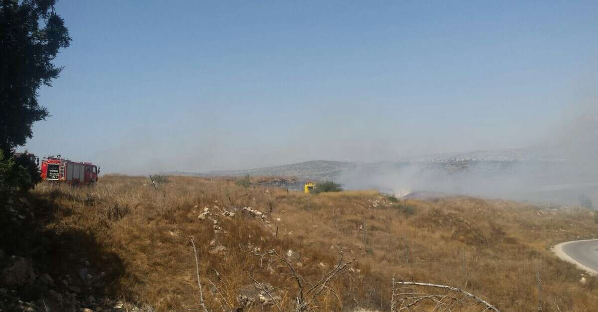 מעולה בגלל שריפה: היישוב כרמי קטיף פונה מתושביו | ישראל היום HD-66