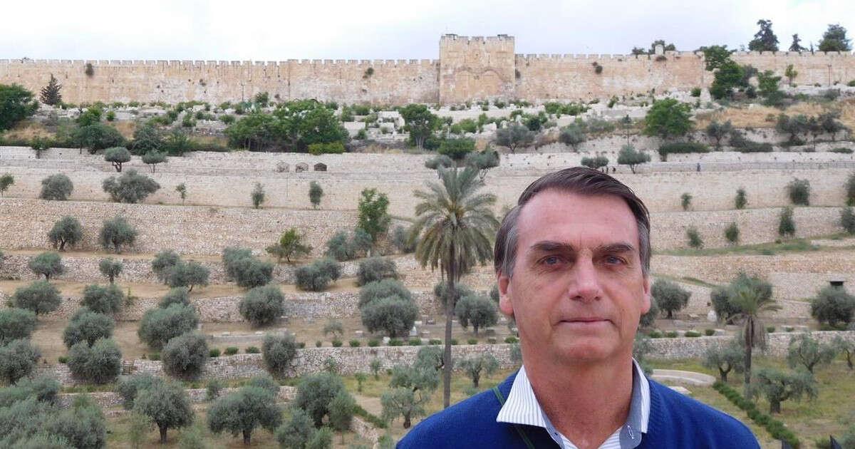 Resultado de imagem para bolsonaro em israel