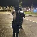 חבלן המשטרה בפעולה // צילום: דוברות המשטרה