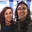 יפה (משמאל) ונעמה יששכר // צילום: באדיבות המשפחה