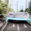 ידלג מעל כל רכב שגובהו 2.5 מ' ומטה // צילום: מתוך סרטון ההדמיה