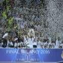 ריאל מדריד מניפה את גביע האלופות ה-11 שלה