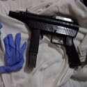 אחד הנשקים שנתפסו // צילום: דוברות משטרת ישראל