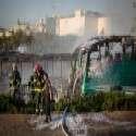 זירת הפיגוע בקו 12, בחודש שעבר // צילום: נעם ריבקין פנטון