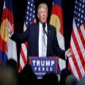 דונלד טראמפ, בנאום בחירות בקולרדו //צילום: רויטרס