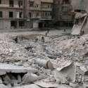הרס בעקבות הפצצות של חיל האוויר הרוסי בחלב. צילום: רויטרס