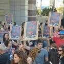 הפגנת המורים בתל אביב, שלשום // צילום: יוסי זליגר