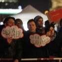 הפגנה נגד המפלגה בחודש שעבר  //  צילום: GettyImages