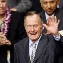 ג'ורג' בוש האב // צילום: רויטרס