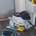 מטען החבלה בפרסונס גרין // צילום: אי.אף.פי