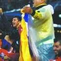 בברצלונה הניפו דגלי עצמאות // צילום: אי.פי