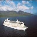 צפו: ספינת ענק עם מסלול מירוצים בלב האוקיינוס