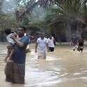 סיוע במקרה אסון. שיטפון באיי סוקוטרה // צילום: AFP