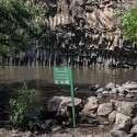 בריכת המשושים נסגרה למבקרים עקב זיהום במים // צילום: אייל מרגולין/ג'יני