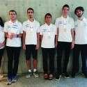 המשתתפים בתחרות עם הזוכים במדליות // צילום: מרכז מדעני העתיד