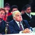 להרהר במילה או במשפט. יצחק שמיר בוועידת השלום במדריד, 1991