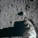 הפעם לשוב לתמיד. טביעת רגל של אסטרונאוט על הירח // צילום: NASA
