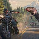 האופנוע הנאמן וזאב שרעב למוח אדם. Days Gone // צילום: מתוך המשחק