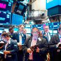 קומת המסחר בבורסה בני יורק // צילום: איי.אף.פי