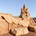 פסל חול בפסטיבל