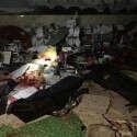 זירת הפיגוע בקאבול. למעלה מ-180 פצועים ו-63 הרוגים // צילום מתוך טוויטר