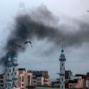 תקיפה ישראלית בעזה (ארכיון) // צילום: אי.אף.פי