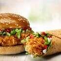 שתיים מהמנות הנבחרות של KFC // צילום יחצ חול