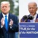 הנשיא טראמפ והמועמד הדמוקרטי ביידן // צילום: איי.אף.פי, איי.פי