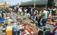 השוק ביפו. שיעור של יותר מ־4% ממשקי הבית הערביים // צילום: יהושע יוסף