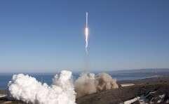 עוד שיגור מוצלח. פלקון 9 // צילום: SpaceX