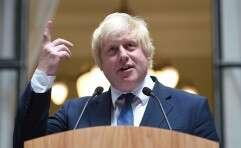 שר החוץ הבריטי, בוריס ג'ונסון // צילום: AFP