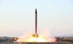 """מגיע לישראל. הטיל האיראני """"עימאד"""" // צילום: רויטרס"""