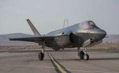 """מטוס """"אדיר"""" F-35 // צילום: דובר צה""""ל"""