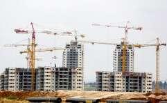 בנייה חדשה בקריית גת // צילום: יהושע יוסף