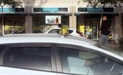 הפך לנהג מונית מצטיין // צילום: רוני שיצר
