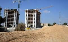 אתר בנייה בבאר שבע // צילום: דודו גרינשפן