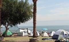 חוף בכנרת. דואגים לטבע // צילום: גיל אליהו/ג'יני